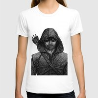 arrow T-shirts featuring Arrow by Jack Kershaw