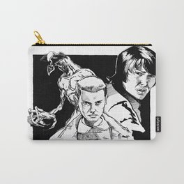 Stranger Things: Eleven, Mike, and the Demogorgon Carry-All Pouch
