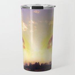 Watching the Sunset Travel Mug