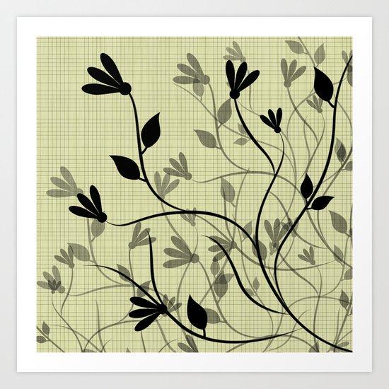 Whispering Breeze Art Print
