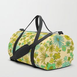 large retro flower daydreams // by surfy birdy Duffle Bag