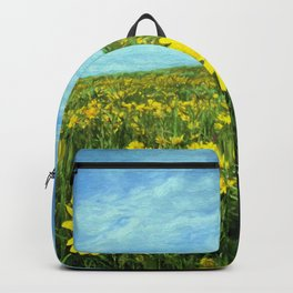 Field of Yellow Backpack