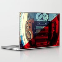 sound Laptop & iPad Skins featuring Sound by sysneye