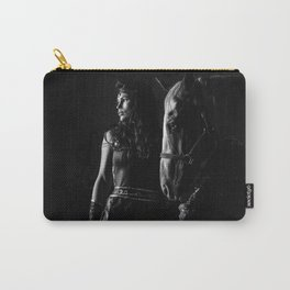Stallion Riding with Julia Carry-All Pouch
