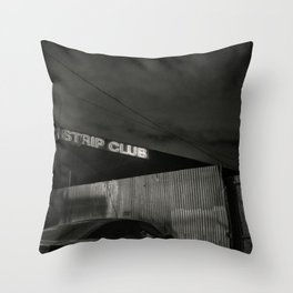 Late Night Tales Throw Pillow