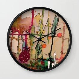 la mama Wall Clock