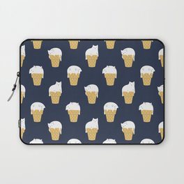 Meowlting Pattern Laptop Sleeve