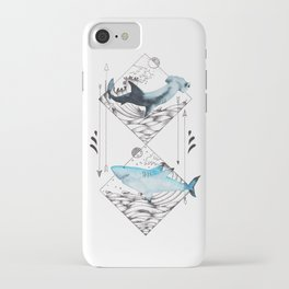 sharks on point iPhone Case