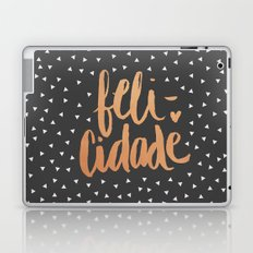 happiness in portuguese Laptop & iPad Skin