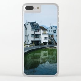 Kyoto Suburb Clear iPhone Case