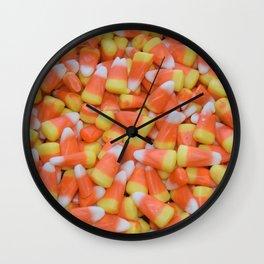 Candy corn   Candy   Halloween Decor   Happy Halloween Wall Clock
