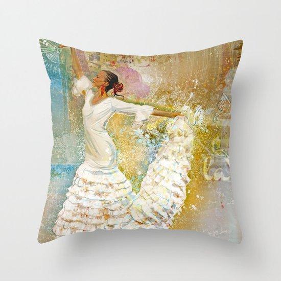 Mariposa °la Vida 2^ Throw Pillow