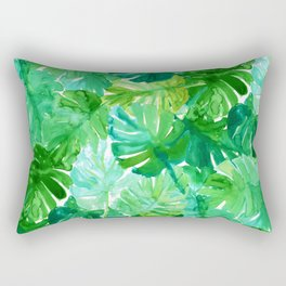 Welcome to the Jungle Palm Rectangular Pillow
