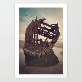 Shipwrecked - The Peter Iredale Art Print