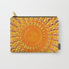 Sunny Side Bubble Dot Pattern 4 Carry-All Pouch