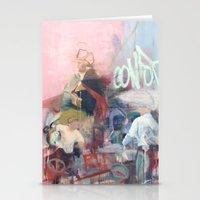 washington Stationery Cards featuring Washington by Alex Jackson