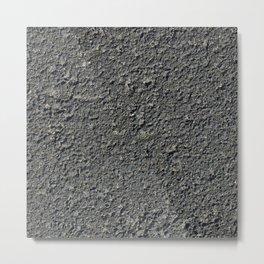 Texture #2 Asphalt Metal Print