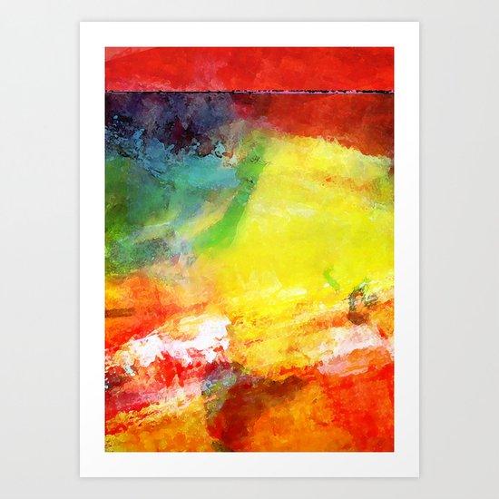 Color Interactive #1 Art Print