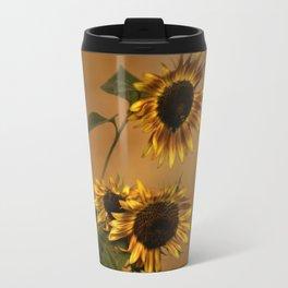 Origin Of Sunflowers  Travel Mug