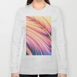 Strands of Dawn. Colorful Abstract Long Sleeve T-shirt