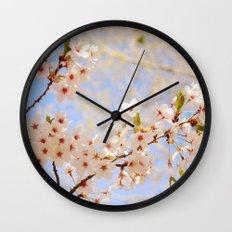 Cherry Blossoms  Wall Clock