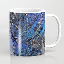 Precious Lapis Lazuli Stone Mineral Blue Gold Coffee Mug
