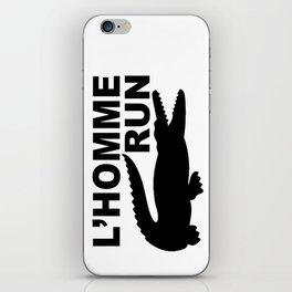 L'Homme Run iPhone Skin