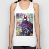 bat man Tank Tops featuring bat by Beth Jorgensen