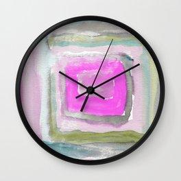 Heart Music Six Wall Clock
