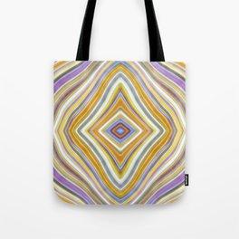 Wild Wavy Lines XXV Tote Bag