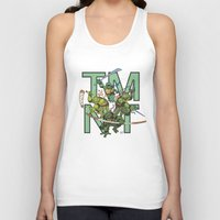 tmnt Tank Tops featuring TMNT by Ryan Liebe