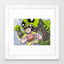 Arthur: The World's Strongest Boy Framed Art Print