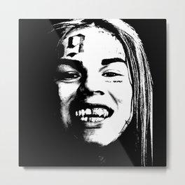 6ix9ine Metal Print