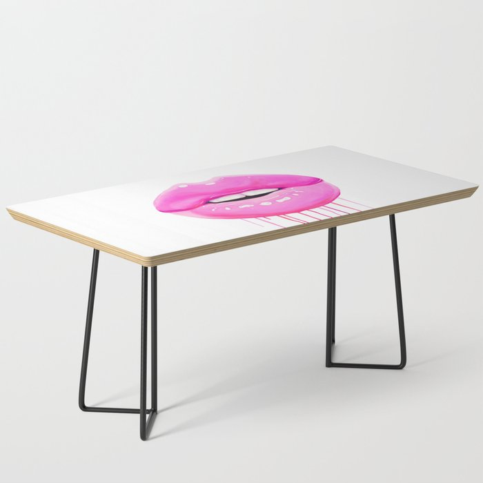 Pink lips Coffee Table