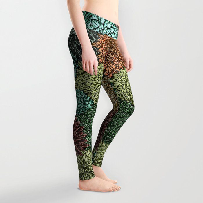 Ink  Pattern No.4 Leggings
