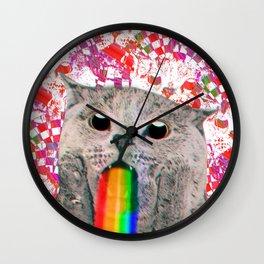 Meme Cat Wall Clock