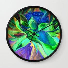 """Flor de Lotus"" Wall Clock"