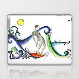 Nose riding Surfer  Laptop & iPad Skin