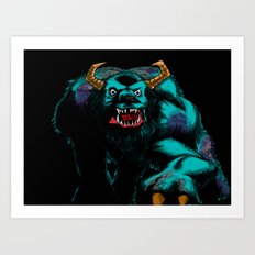 Sully2.... Art Print