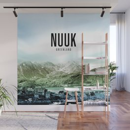 Nuuk Wallpaper Wall Mural