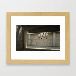 La Luz de Igualada Framed Art Print