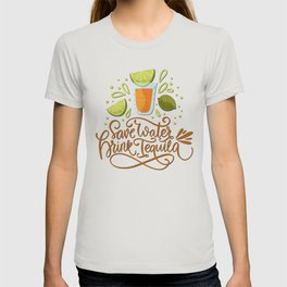 Mexico - Drink Tequila - light T-shirt