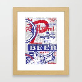 Beer Me: PBR Framed Art Print