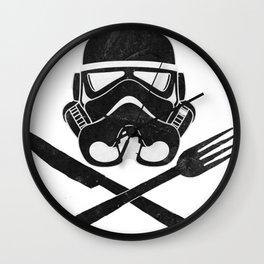 Eat Geek Play Logo Wall Clock