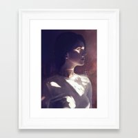 ultraviolence Framed Art Prints featuring ULTRAVIOLENCE by christina