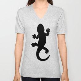 Black Lizard Unisex V-Neck