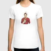 derek hale T-shirts featuring derek with kittens by steammmpunk