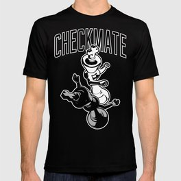 Checkmate Punch Funny Boxing Chess T-shirt