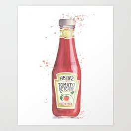 Can you Ketchup? Art Print