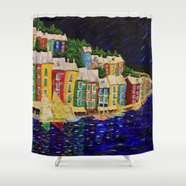 Night in Tuscany Shower Curtain